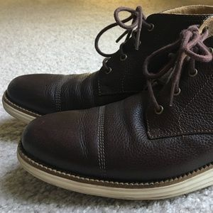 Cole Haan Grand OS chukka boots - Size 8